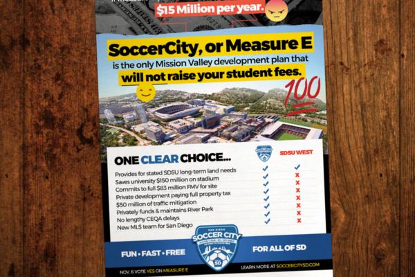 John Wolfe Compton - Portfolio SoccerCity SD Daily Aztec Print Ad