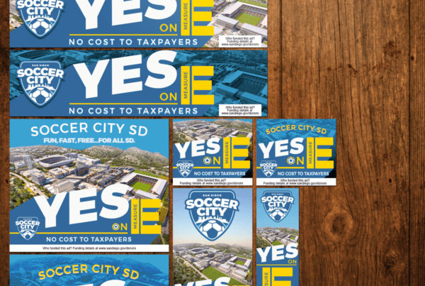 John Wolfe Compton | SoccerCity SD - Yes on E Digital Display Ads